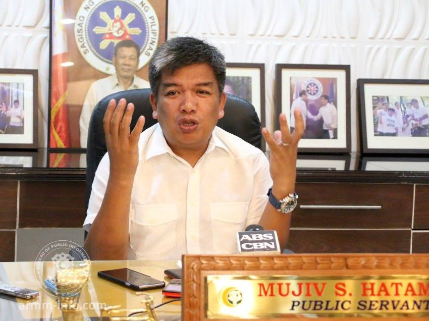 Hataman condemns twin bombings in Jolo, Sulu