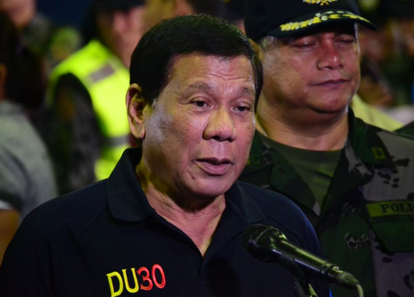 Duterte reiterates plan to step down if children are proven involved in graft