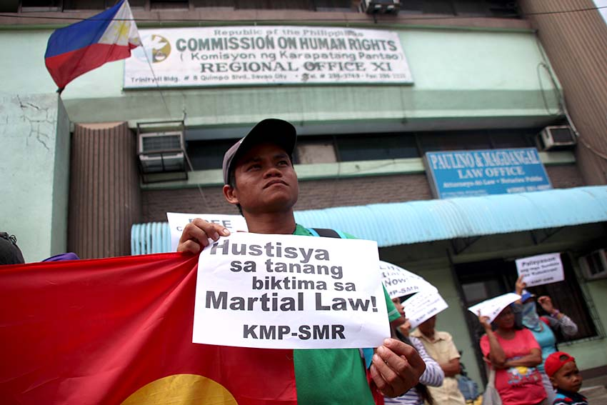 Kin, colleague of rights victims lodge complaints in CHR 11