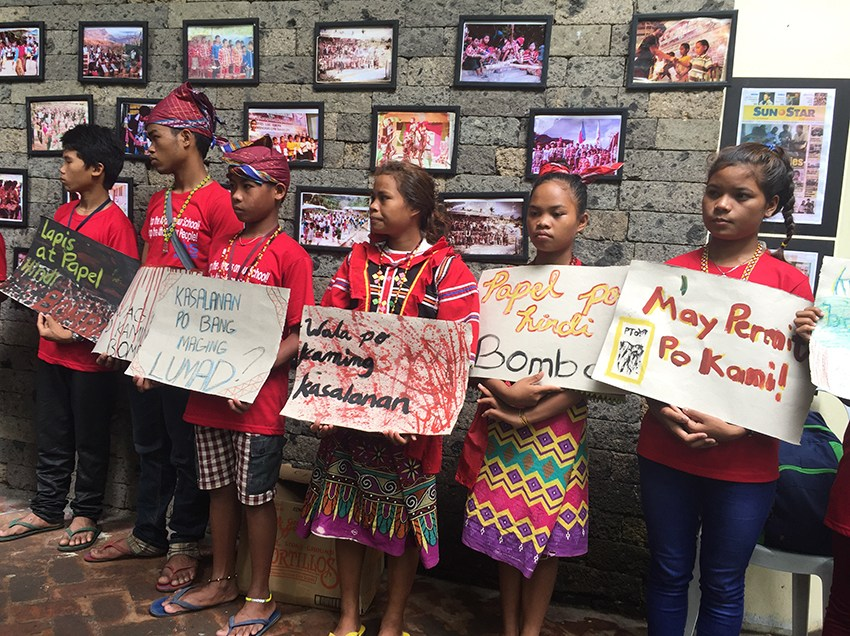 """Peace talks will solve Lumad issues, not martial law"""