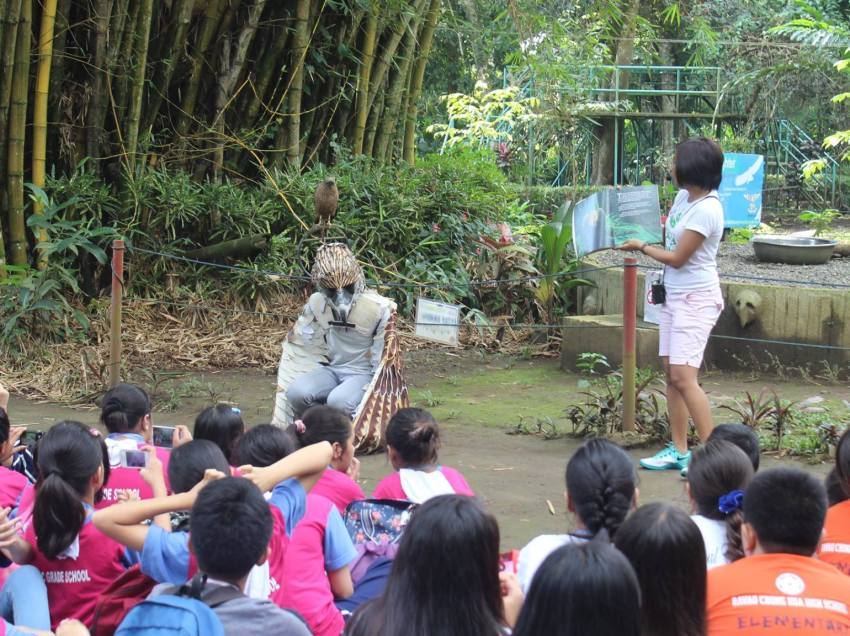 Philippine eagle center sets up measures for guests' safer visit amid bird flu outbreak