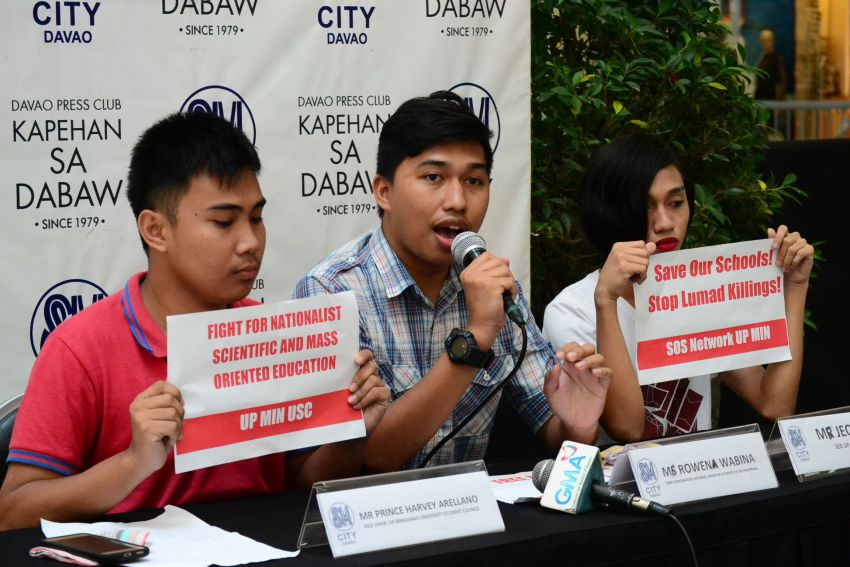 UP student council wants free education for all
