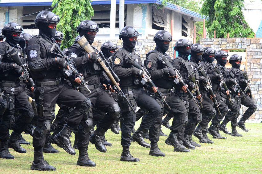 Tagum: 48 SWAT advance course grads to counter spillover of terrorism in Davao City