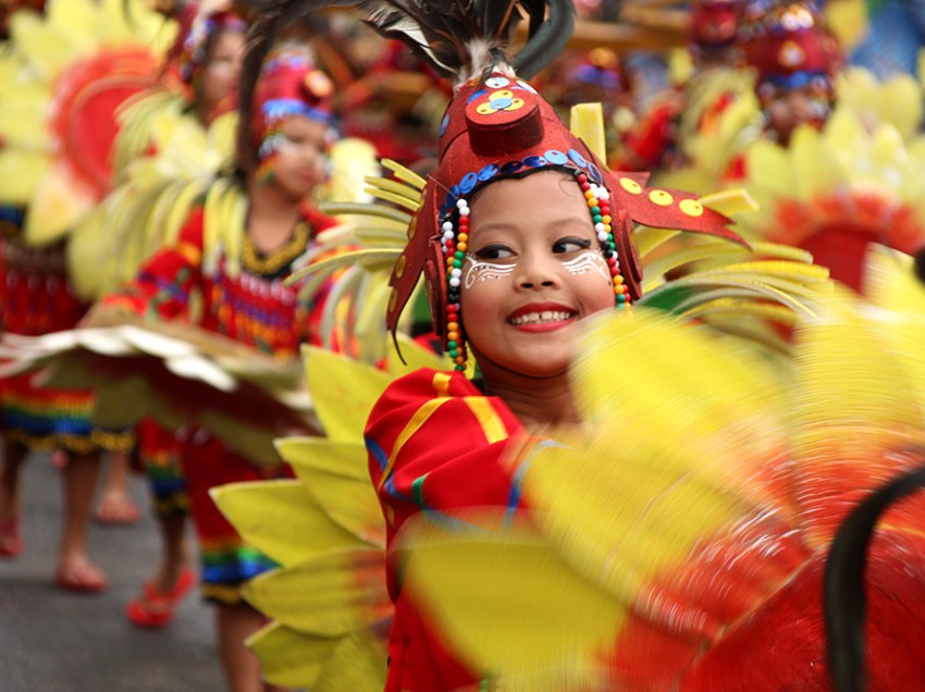 LOOK: In Kadayawan, a profusion of colors and smiles