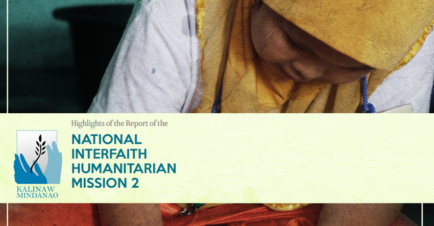 FULL TEXT | Second National Interfaith Humanitarian Mission Report on Human Rights situation of Marawi evacuees