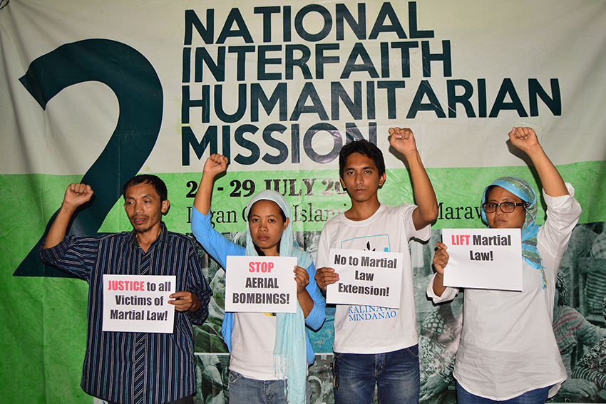 Humanitarian mission reports 309 cases of human rights violation in Marawi