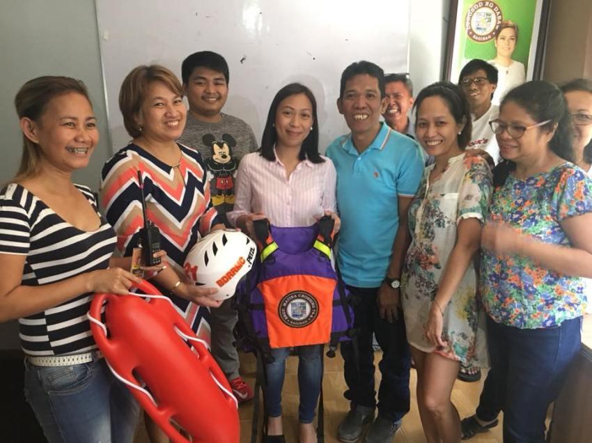 Matina Crossing has a new barangay captain