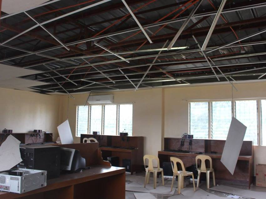 P10-M damage after quake jolts Lanao del Sur