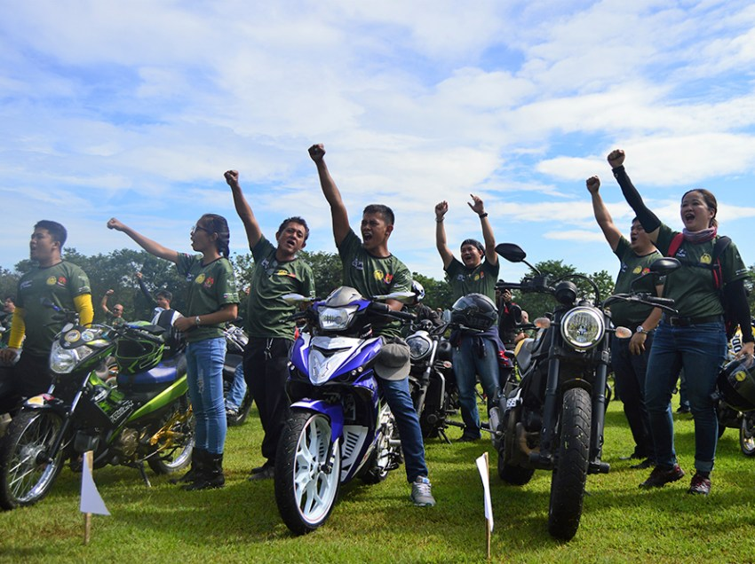 Mindanao bikers unite for troops in Marawi