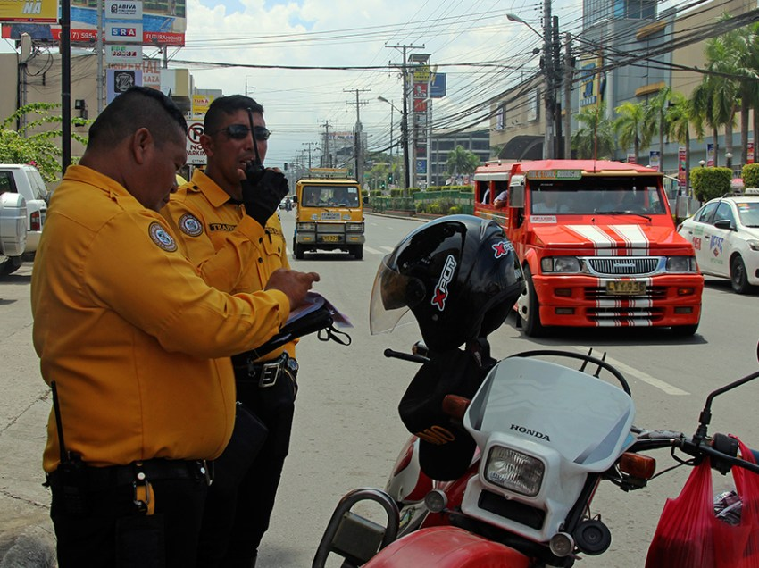 DCPO tightens implementation of traffic laws in Davao City