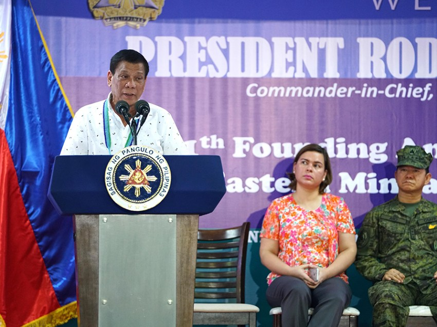 Duterte cites tension in Maguindanao at height of  Marawi ​crisis for extending ML