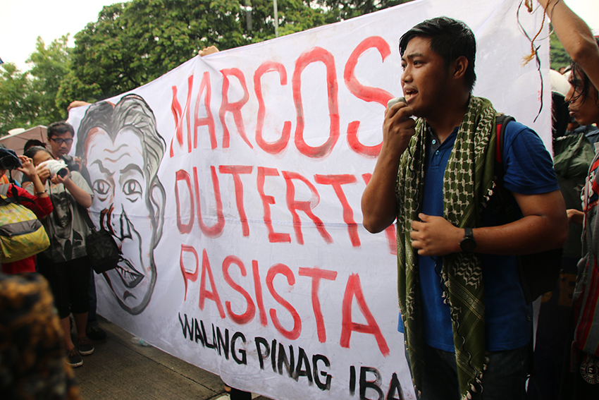 Minorities: Duterte absolving Marcos from crimes