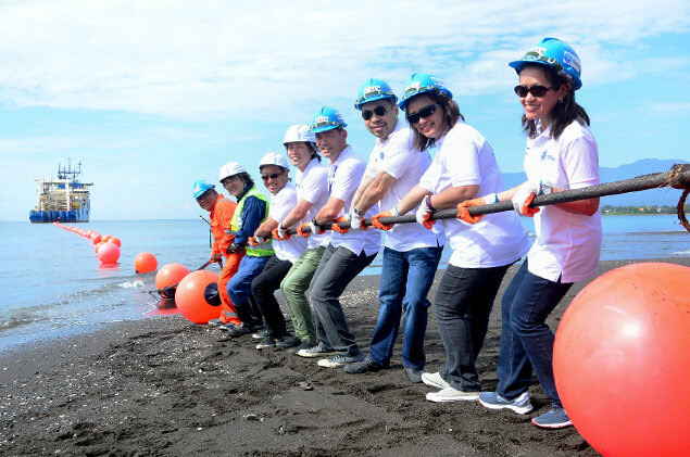 First submarine cable system to boost Davao's internet connection