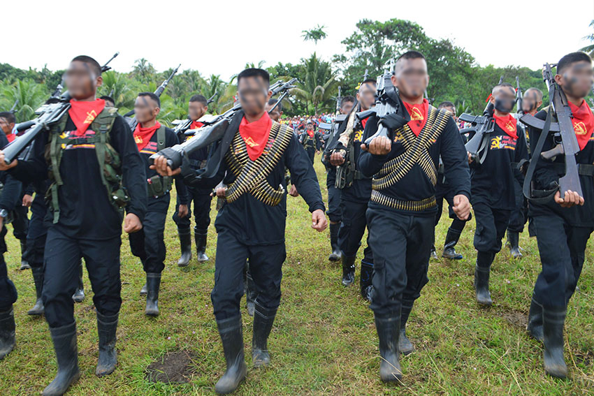 NPA attacks Agusan construction firm