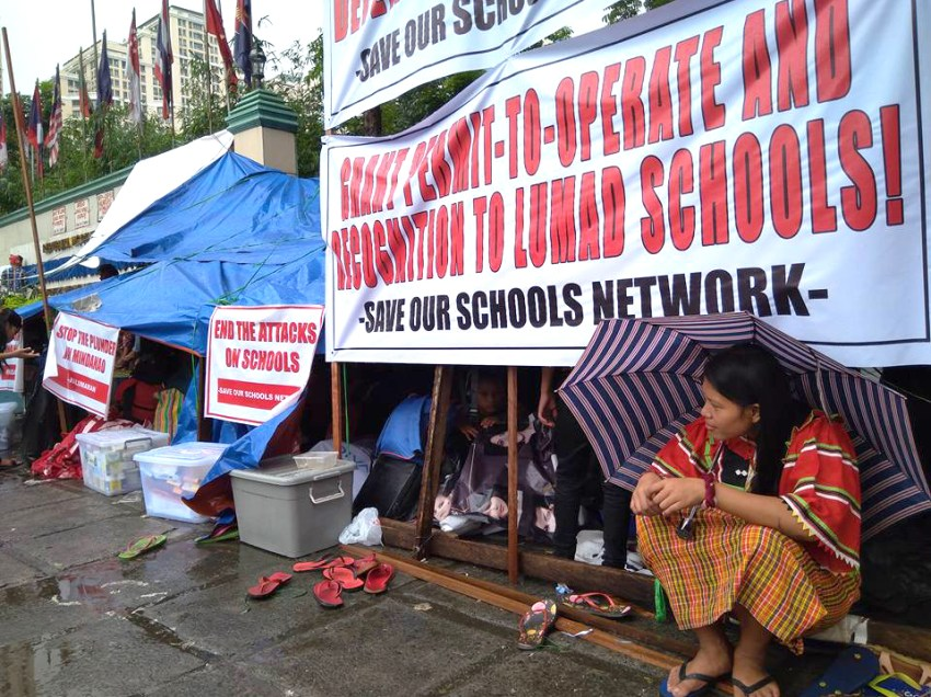 'Declaring NPAs terrorists a threat to Lumad children'