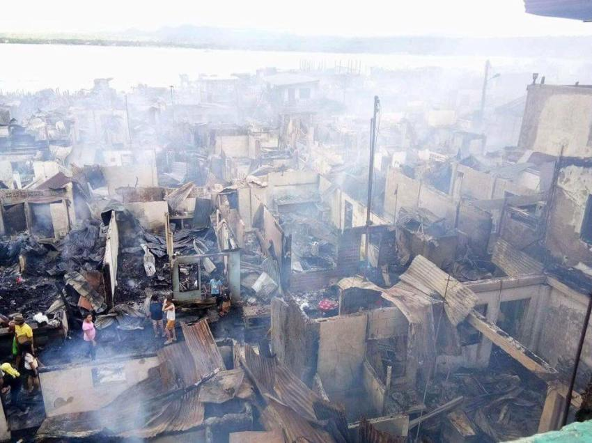 Sasa fire hits 5th alarm, leaves 800 families homeless