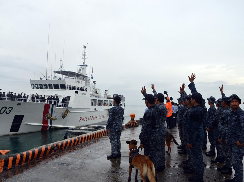 Coast guard ends tour of duty in Marawi