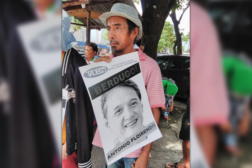 Banana plantation workers ask Ombudsman to fast-track case against Floirendo