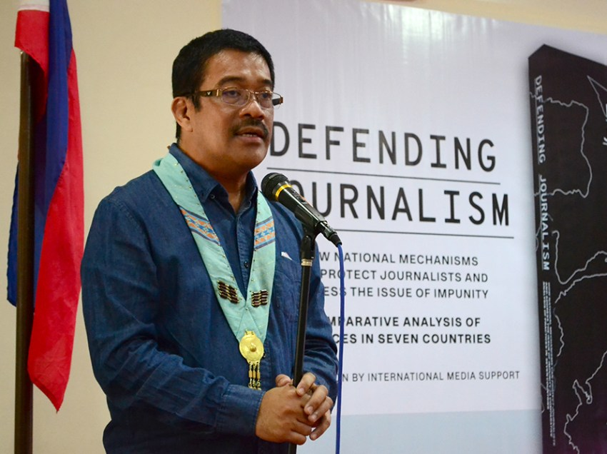 FULL TEXT | Keynote speech of Rep. Carlos Zarate during the launching of the book titled 'Defending Journalism'