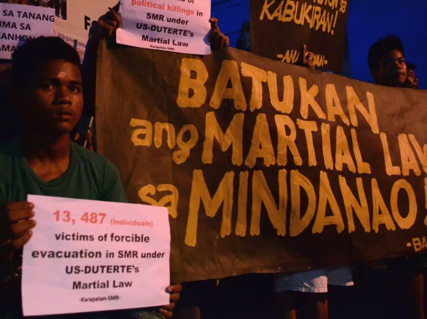Lawmakers, activists wary of more HR violations under extended Martial Law in Mindanao