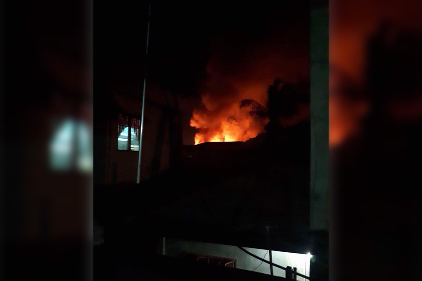 Second fire breaks out in Davao City this week