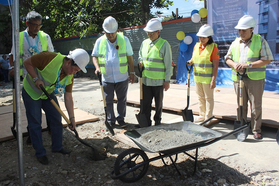 DOH-groundbreaking-davao quarantine station