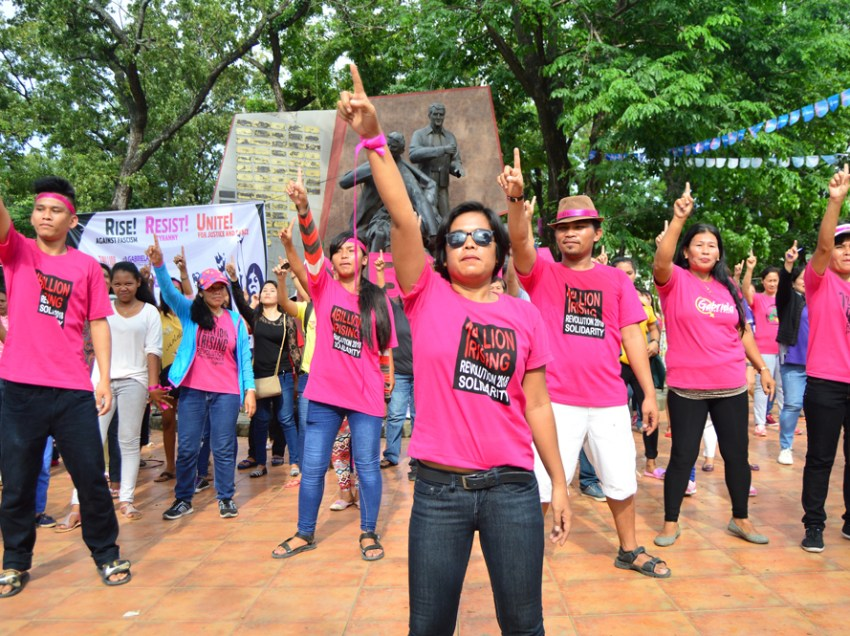 One Billion Rising in CDO gathers hundreds