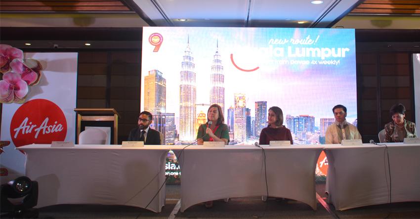 AirAsia officially launches Davao-Kuala Lumpur flight