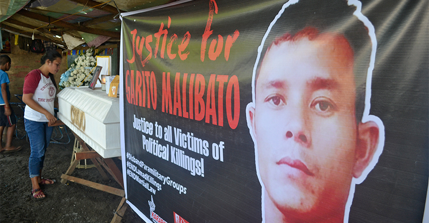 Kin of Lumad slain in Kapalong call to disband paramilitary anew