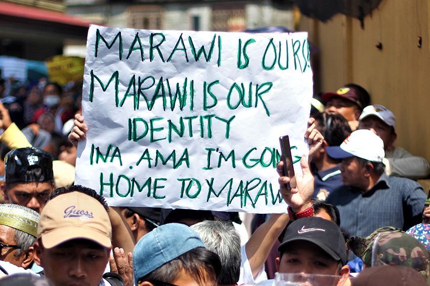 Displaced Meranaw folks want to return to Marawi for good, not just visit their homes