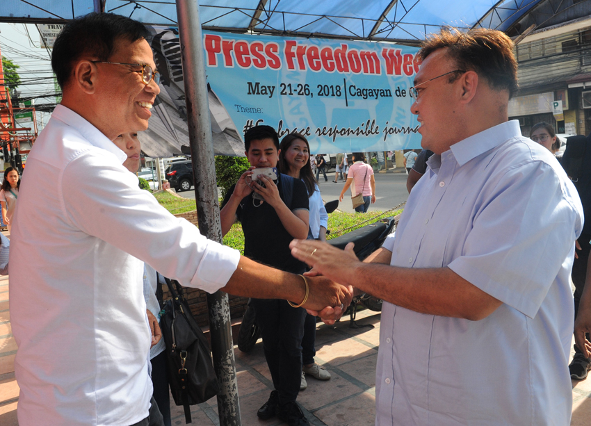 ROQUE MEETS CDO MEDIA