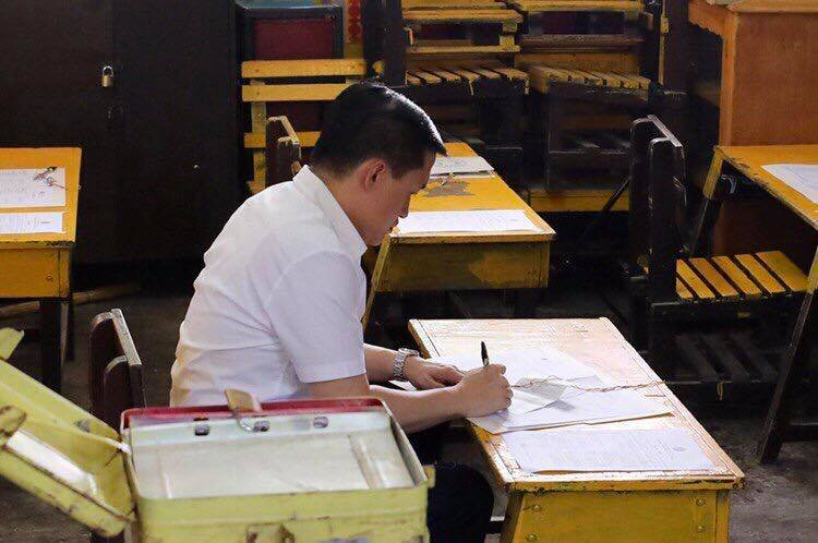 President Duterte a no-show in barangay elections