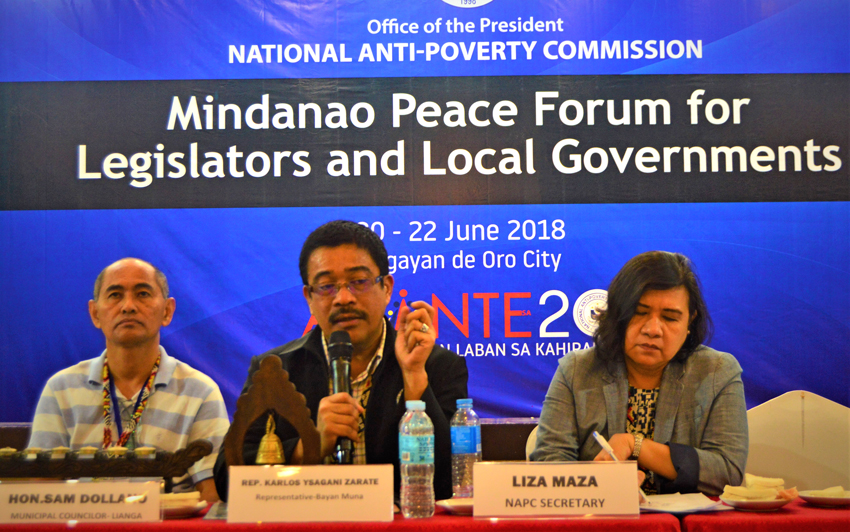 NAPC, Mindanao leaders ask Duterte for resumption of peace talks