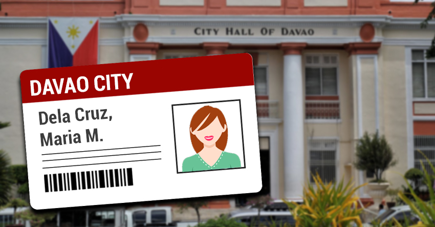 Barangay IDs being issued in Davao
