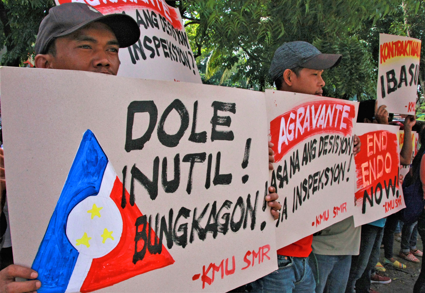 Contractualization, low wages, harassments plague workers in Southern Mindanao