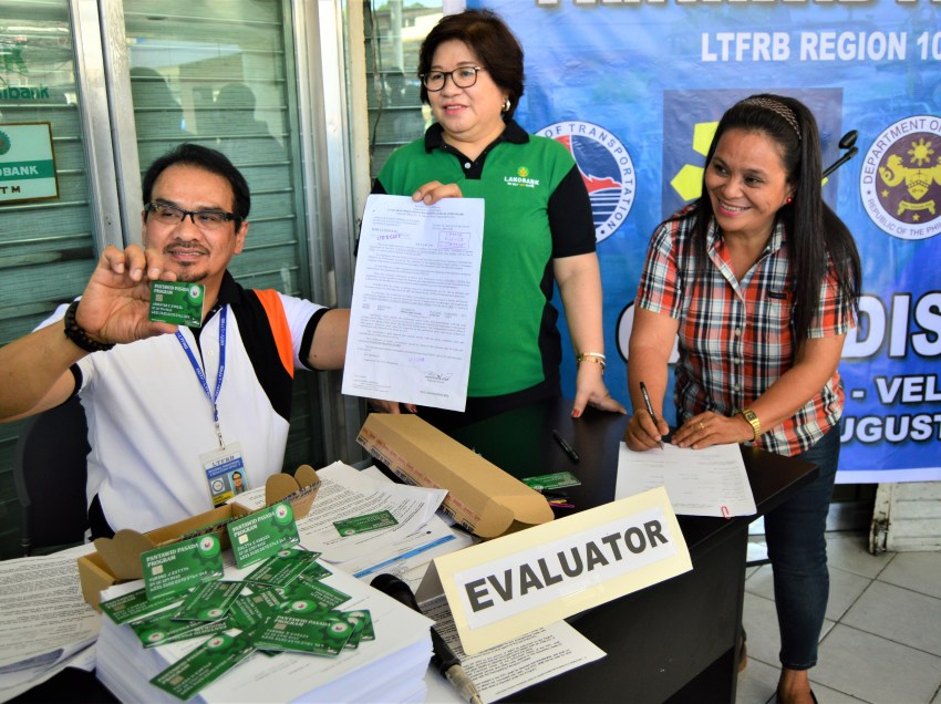 Jeepney operators in Normin to receive P5,000  fuel subsidy from LTFRB
