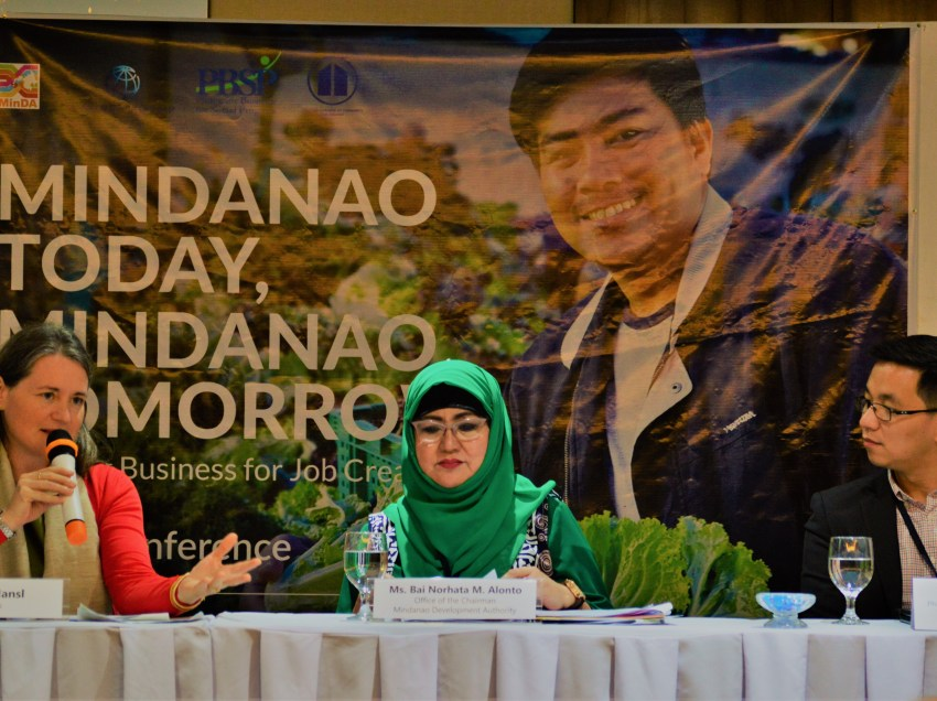 MinDA says economic growth to resolve conflict Mindanao