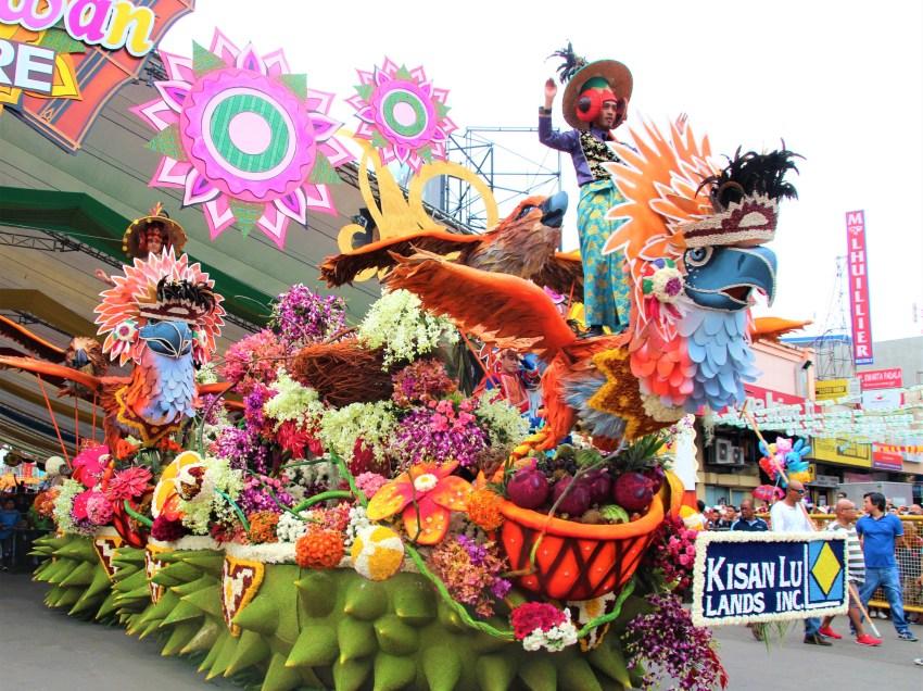 Kadayawan floats at a glance