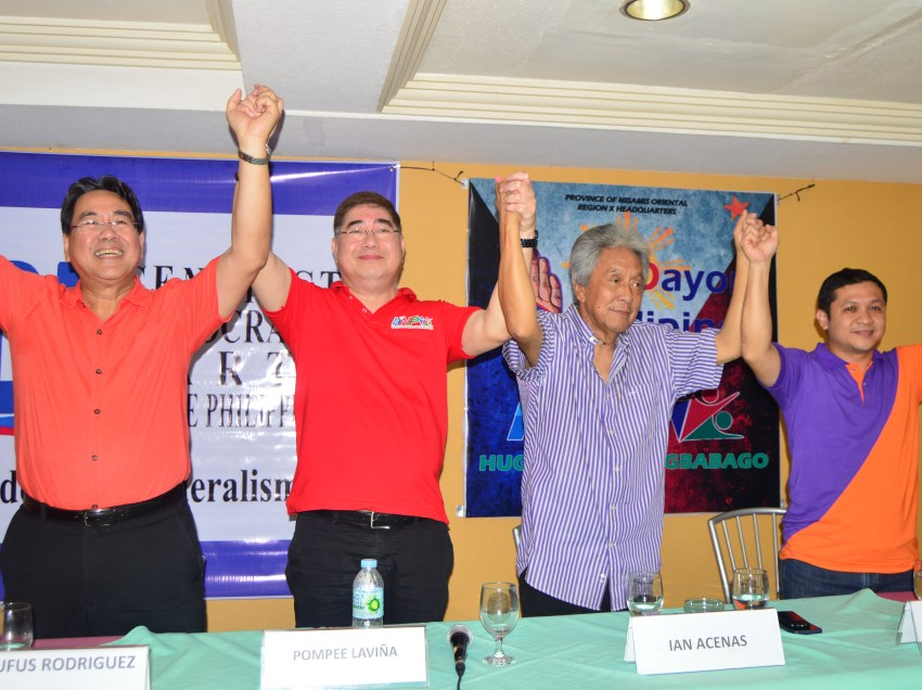 Duterte political allies in a free-for-all in Oro mayoralty race