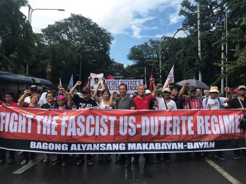 A tale of fiction: Bayan hits AFP's 'Red October' storyline