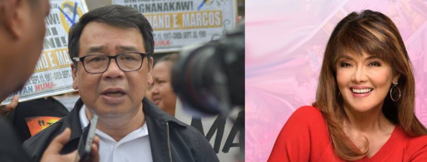 Neri to Imee: Let's debate at Plaza Miranda