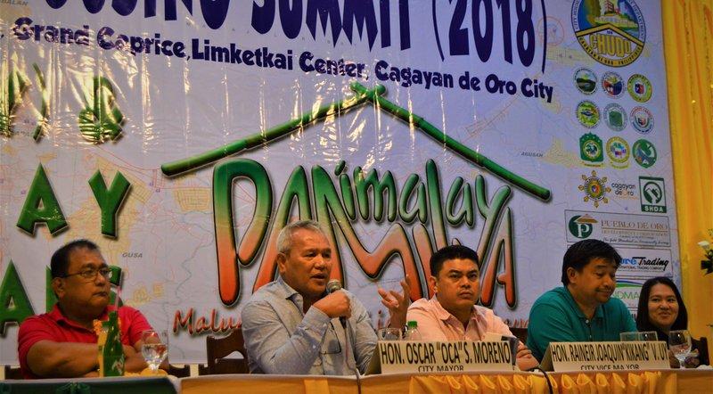 CDO addresses housing need of informal settlers