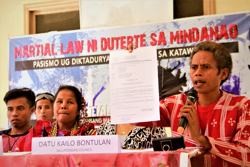 Salugpongan leaders slam red-tagging