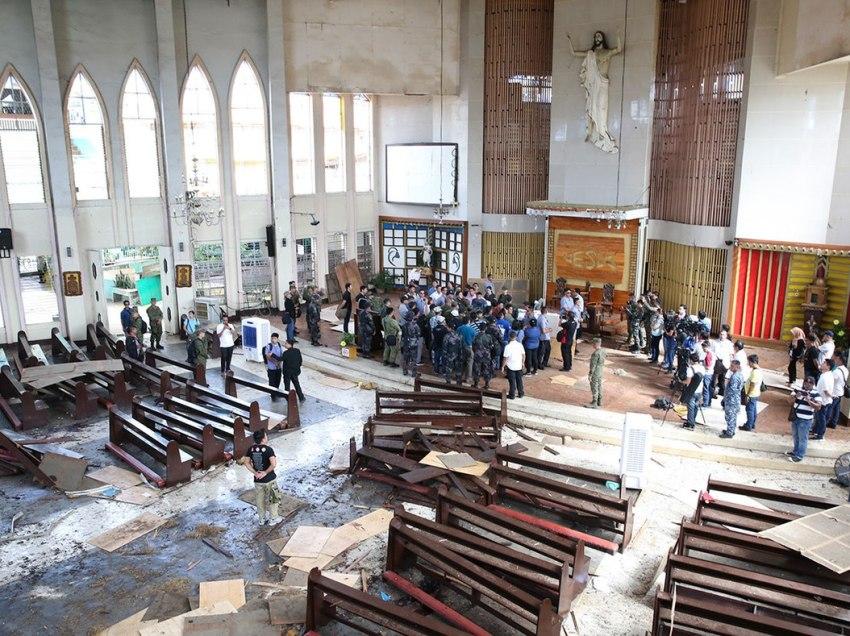 Moro group hopeful blast won't 'divide' Christian, Muslims in Jolo