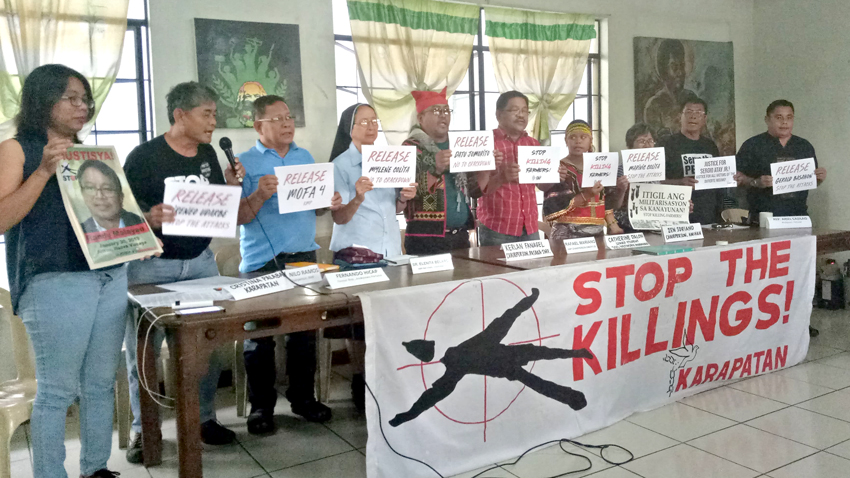 HR group alarmed over rise of cases of activists gone missing in Mindanao