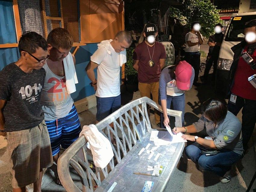PDEA-11 arrests 3 in drug den raid