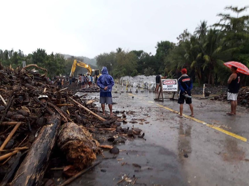 Chedeng forces 3,000 Davao Oriental residents to evacuate