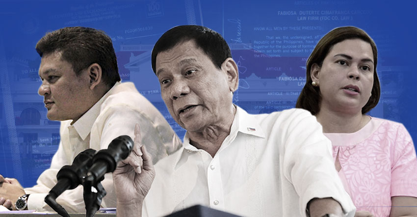 PCIJ REPORT| Dutertes mix up data on 23 business interests, posts of 16 relatives in gov't