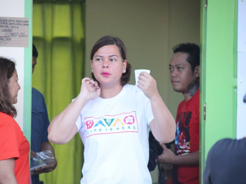 Mayor Sara confident Davao voters would go for HNP bets