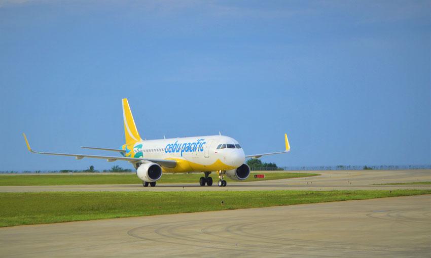 Caap confirms Cebu Pacific cancels flight for Manila